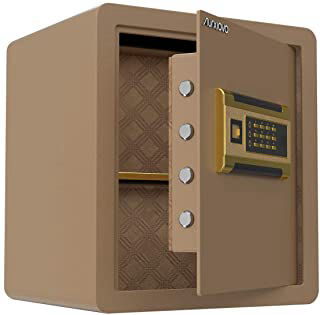 Piggy Pilot Tan Electronic 4 Bolt Safe